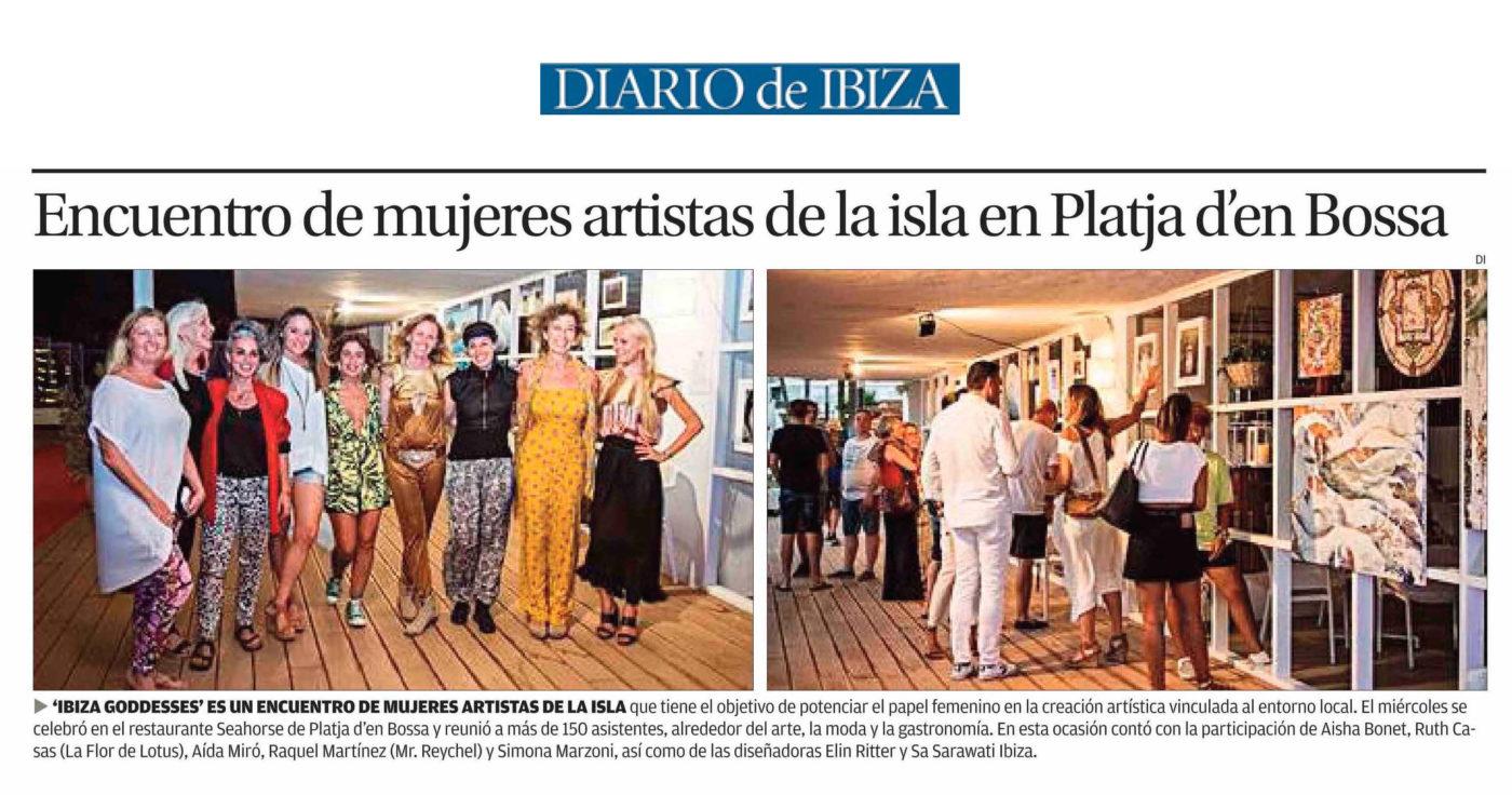 Mujeres Artistas en Seahorse - DIARIO DE IBIZA