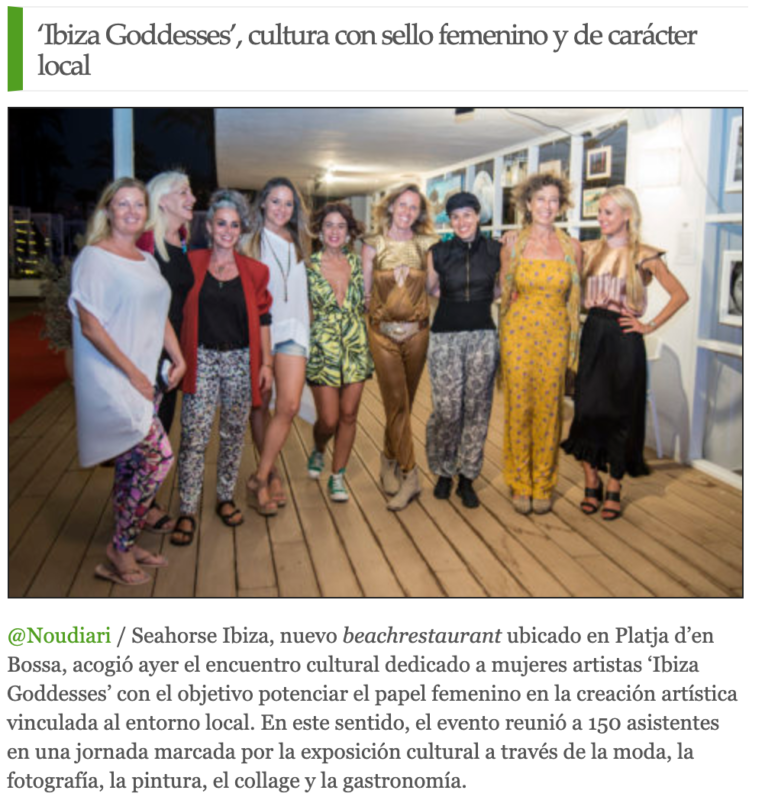 'Ibiza Goddesses', cultura con sello femenino y de carácter local