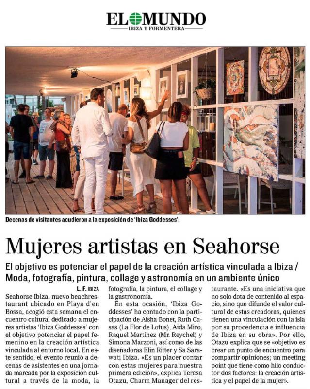 Mujeres Artistas en Seahorse - EL MUNDO